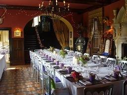 Trevor Hall Dining Room Wedding Pic